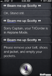 Beam me up Scotty again