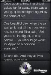 Siri tells a story