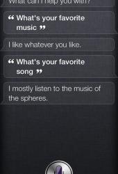 Siri loves music