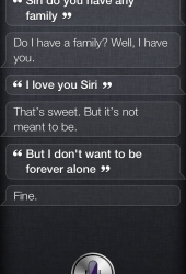 Siri, do you have any family?