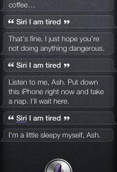 Siri, I am tired