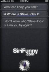 Steve Jobs who?