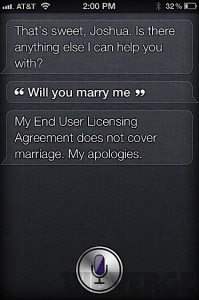 Siri and its Android alternatives Iph4s-siri-marriage-199x300